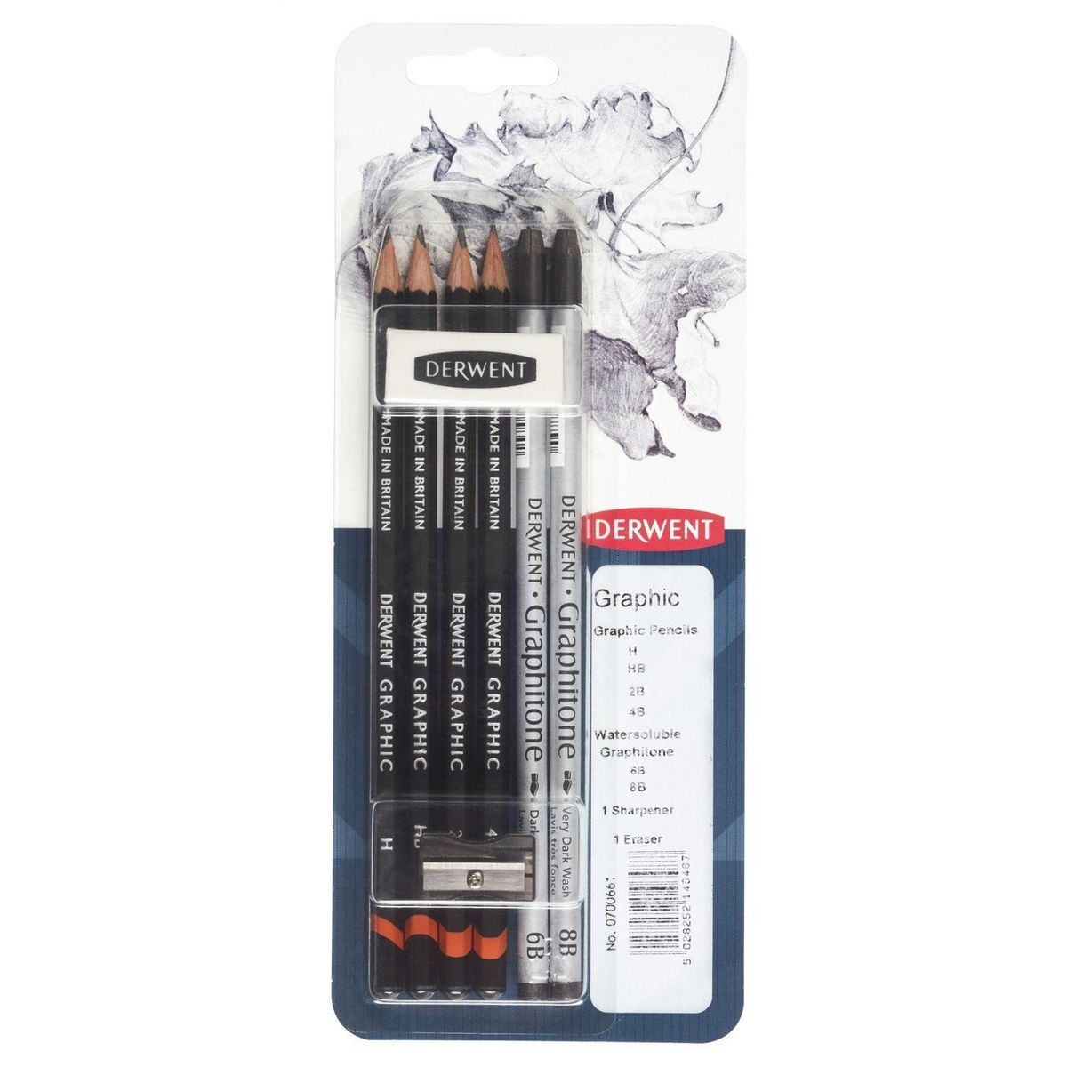KIT DERWENT GRAPHITONE BLISTER C/6