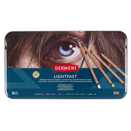 KIT DERWENT LIGHTFAST 36 CORES