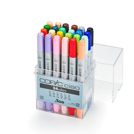 KIT COPIC CIAO 24 CORES