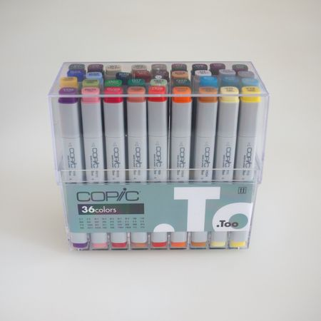 KIT COPIC CLASSIC 36 CORES