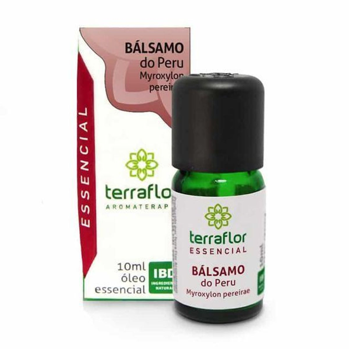 ÓLEO ESSENCIAL TERRA FLOR BÁLSAMO DO PERU RESINOIDE 10ML