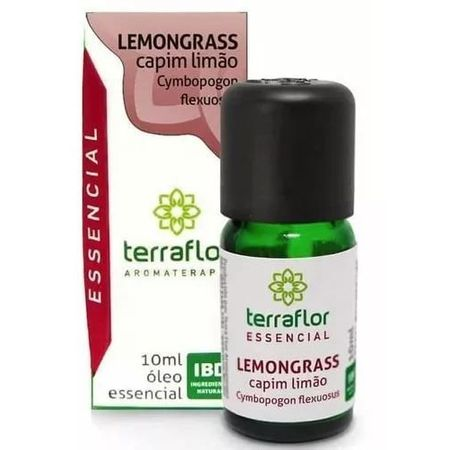 ÓLEO ESSENCIAL TERRA FLOR LEMONGRASS 10ML