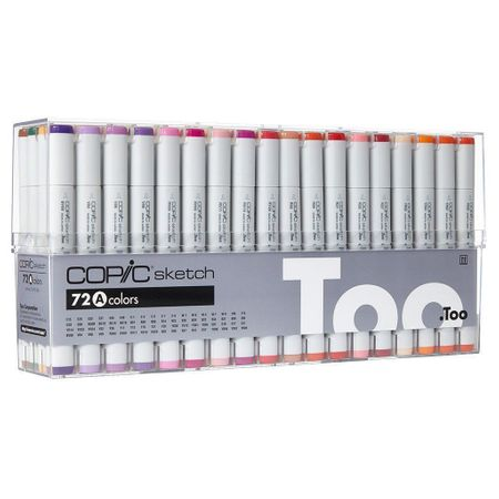 KIT COPIC SKETCH 72 CORES