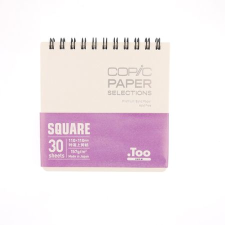 SKETCHBOOK COPIC PREMIUM BOND SQUARE 157 g/m² 30 FOLHAS