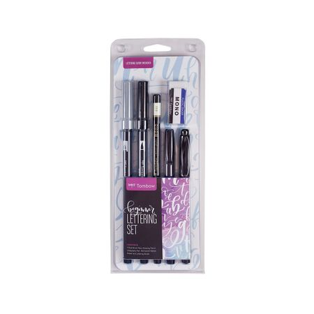 Kit Lettering Tombow c/ 6 unidades