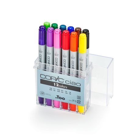 Kit Copic Ciao 12 Cores
