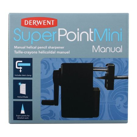 Apontador De Mesa Derwent Superpoint Manual Pequeno (mini)