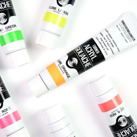Guache Acrílica Turner Colour Works Lumi 20 Ml Avulsa