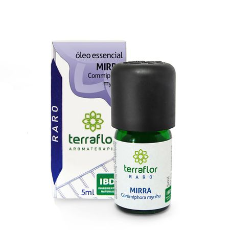 óleo Essencial Terra Flor Mirra 5ml (raro)