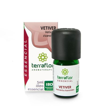 óleo Essencial Terra Flor Vetiver 5ml