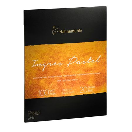 Papel Hahnemühle The Collection Ingres Pastel A4 100g/m² 20 Folhas