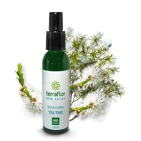 água Floral Terra Flor Tea Tree 120ml