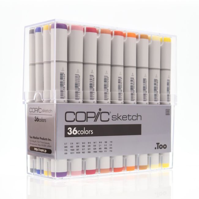 KIT COPIC SKETCH 36 CORES