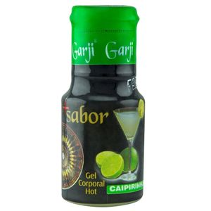 Pack 10 Unidades Gel Hot Caipirinha 15ml Garji
