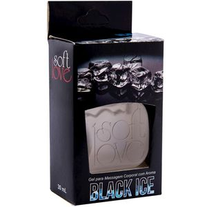 PACK 10 GÉIS ICE BLACK ICE 30ML SOFT LOVE