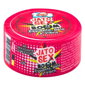 PACK 10 UNIDADES JATO SEX BOOM ESQUENTA GELA E VIBRA GEL 7G PEPPER BLEND