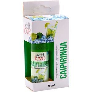 Pack 10 Géis Ice Caipirinha 15ml Soft Love