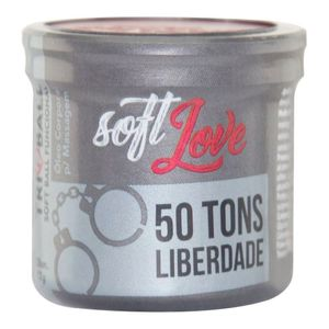 PACK 10 SOFT BALL TRIBALL 50 TONS LIBERDADE 12GR 3 UNIDADES SOFT LOVE