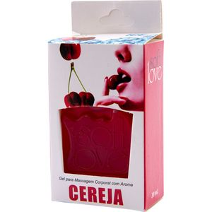 PACK 10 GÉIS ICE CEREJA 30ML SOFT LOVE