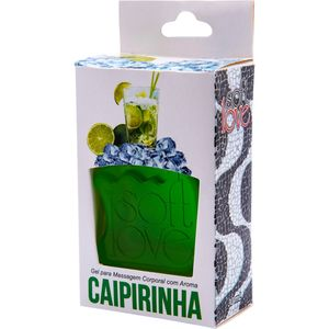 PACK 10 GÉIS ICE CAIPIRINHA 30ML SOFT LOVE