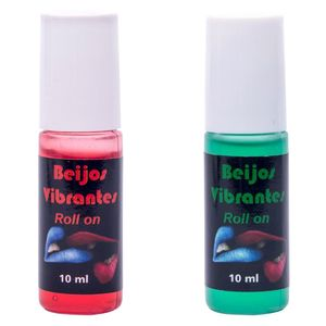 GEL DO BEIJO VIBRANTE EM ROLL-ON 10ML CHILLIES