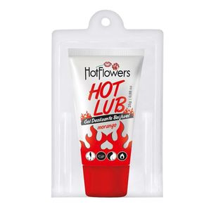 HOT LUB GEL DESLIZANTE BEIJÁVEL 25GR HOT FLOWERS