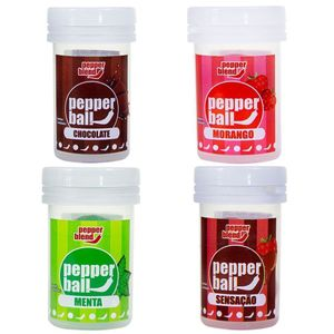 Pepper Ball Plus Comestível Dupla 3,2ml Pepper Blend