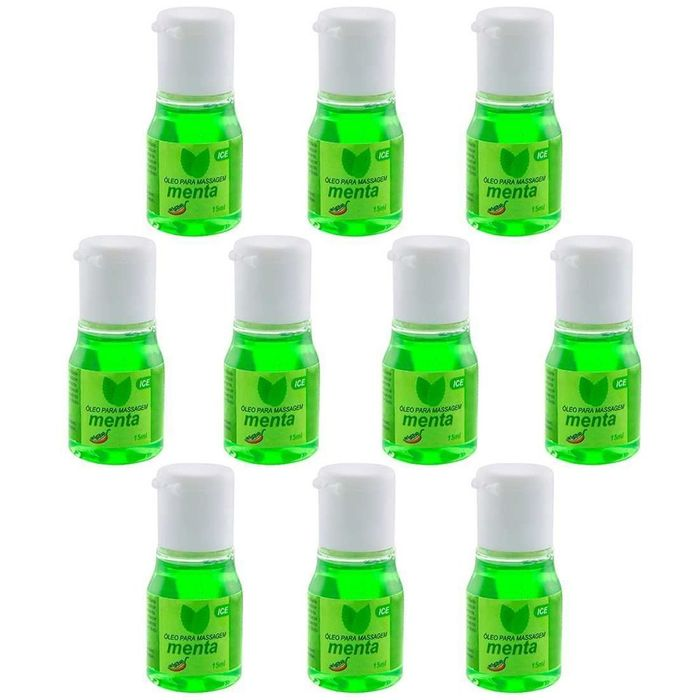 PACK 10 UNIDADES GEL ICE MENTA 15ML CHILLIES