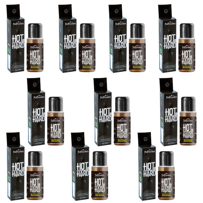 PACK 10 UNIDADES HOT HARD 13G HOT FLOWERS