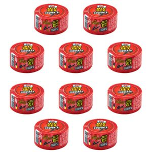 PACK 10 UNIDADES JATO SEX ESQUENTA EXCITANTE GEL 7G PEPPER BLEND