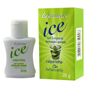 GEL COMESTÍVEL ICE 20ML SOFISTICATTO
