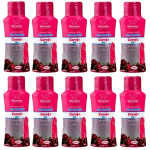 PACK 10 SABONETES CEREJA REFRESCANTE 200ML RHENUKS