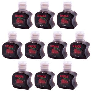 Pack 10 Géis Hot Sensação 30ml Soft Love