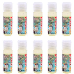 Pack 10 Géis Hot Pina Colada 15ml Soft Love