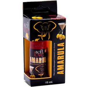 PACK 10 GÉIS HOT AMARULA 15ML SOFT LOVE