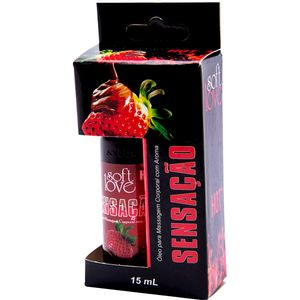 PACK 10 GÉIS HOT SENSAÇÃO 15ML SOFT LOVE