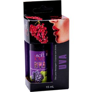 Pack 10 Géis Hot Uva 15ml Soft Love