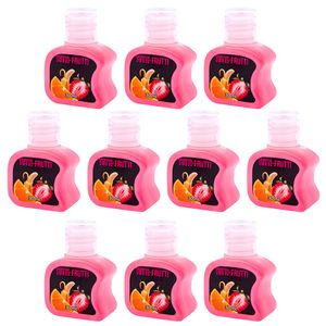 PACK 10 GÉIS HOT TUTTI FRUTTI 30ML SOFT LOVE