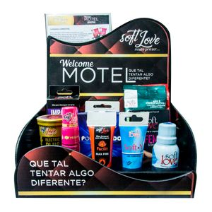KIT SENSUAL PARA MOTEL SOFT LOVE