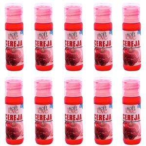 Pack 10 Géis Ice Cereja 15ml Soft Love