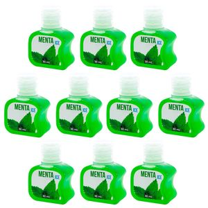 PACK 10 GÉIS ICE MENTA 30ML SOFT LOVE