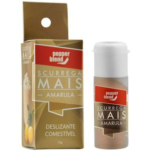 PACK 10 AMARULA SCURREGA MAIS GEL COMESTÍVEL 15GR PEPPER BLEND