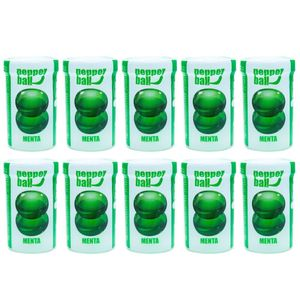 PACK 10 MENTA PEPPER BALL PLUS COMESTÍVEL DUPLA 3,2ML PEPPER BLEND