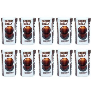 PACK 10 CHOCOLATE PEPPER BALL PLUS COMESTÍVEL DUPLA 3,2ML PEPPER BLEND