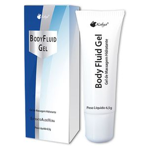 BODY FLUID GEL DESLIZANTE BEIJÁVEL 6,5G KALYA