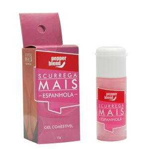 SCURREGA MAIS GEL COMESTÍVEL 15GR PEPPER BLEND