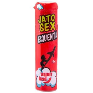 PACK 10 UNIDADES JATO SEX ESQUENTA EXCITANTE 18ML PEPPER BLEND