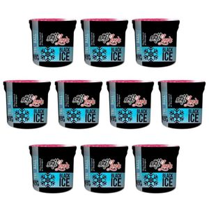 Pack 10 Soft Ball Triball Black Ice 12gr 3 Unidades Soft Love