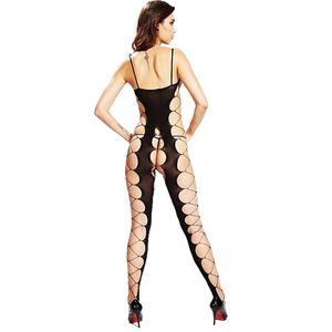BODYSTOCKING MACACÃO RENDADO 42 CIA IMPORT