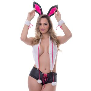 KIT FANTASIA COELHINHA PLAYBOY AMARETO